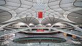 Beijing's new $63 billion mega-airport begins international flights