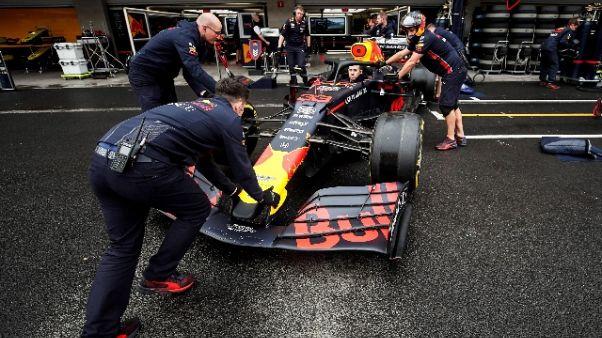F1: Verstappen perde pole, Ferrari prime