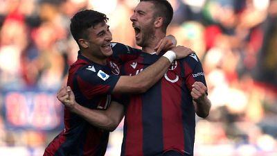 Serie A: Bologna-Sampdoria 2-1