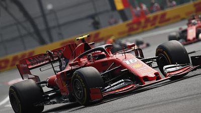 Ferrari Vettel davanti a metà Gp Messico