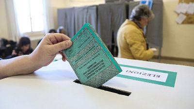 Umbria, affluenza 64,42%, 9 punti in più