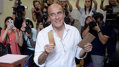 Ruling liberal candidate Martinez leading Uruguay election - media polls