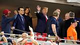 World Series fans greet Trump vision with boos, chants