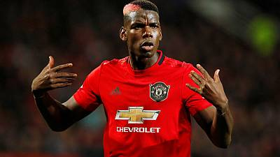 Man United's Pogba out until December with ankle injury