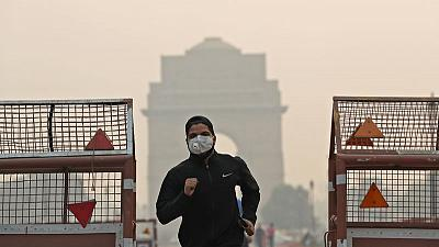 Diwali fireworks haze pushes Indian capital's air quality to severe