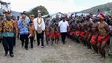 Indonesian president opens bridge in Papua amid efforts to quell unrest