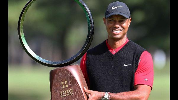 Tiger Woods re allo Zozo Champions
