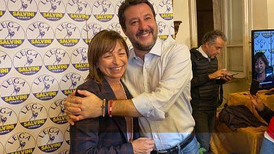 Umbria: Lega al 36,9, M5S al 7,41