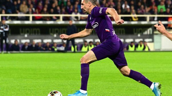 Fiorentina, Ribery rischia molto