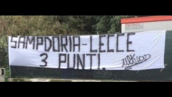 Ultimatum tifosi Samp, col Lecce 3 punti