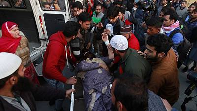 Grenade attack hits Kashmir ahead of visit by EU lawmakers