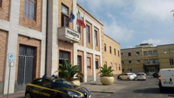 Blitz Gdf in uffici Comune Vibo Valentia
