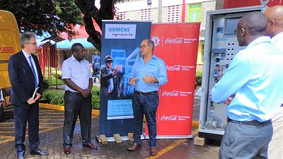Siemens contributes to Coca-Cola Beverages Africa's vision in advancing digitalization