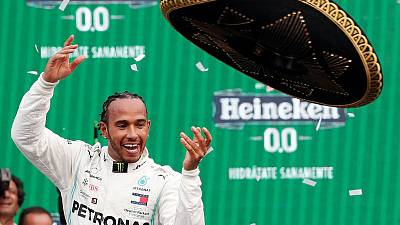 Motor racing: Hamilton all set for a sixth celebration in Texas