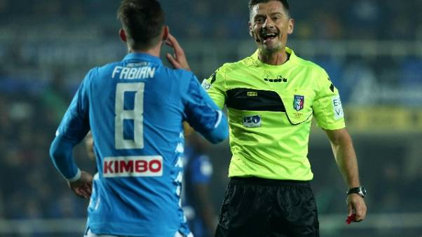 Arbitri: Giacomelli per Napoli-Atalanta