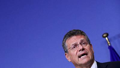 Russia, Ukraine gas talks need sense of urgency - EU's Sefcovic