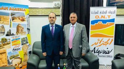 Ambassadeur d'Ukraine a visité l'Office national du tourisme d'Algérie