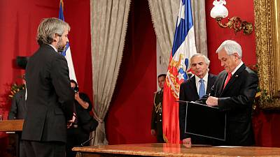 Chile Pinera faces new protests after firing ministers, courting working class
