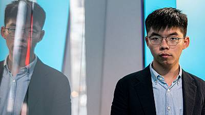 Hong Kong disqualifies democracy activist Joshua Wong from district elections