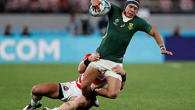 Kolbe back in contention for World Cup final - Erasmus
