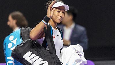 Wta Finals: Osaka si ritira