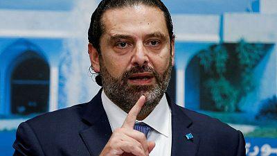 Lebanese PM Hariri to give a speech at 4 p.m. - Twitter