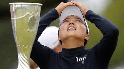 Golf, Jin Young Ko giocatrice dell'anno