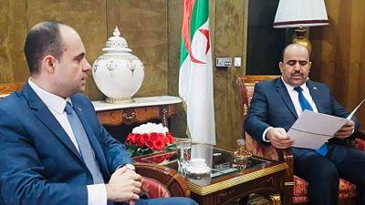 Le Président du Parlement Algérien a accueilli l'Ambassadeur d'Ukraine en Algérie