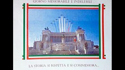 Cena commemora marcia Roma, Prc attacca