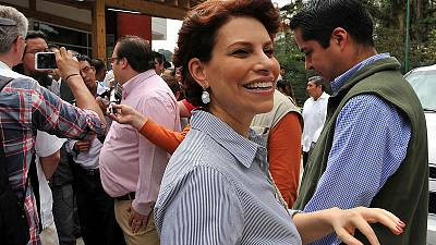 London police detain jailed former Mexican governor's wife; faces extradition trial