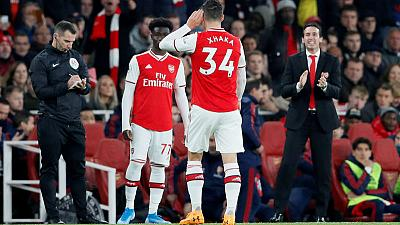 Emery tells Xhaka to apologise after clash with Arsenal fans