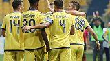 1-0 al Parma,colpo del Verona al Tardini