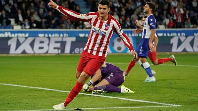 Atletico Madrid held at Alaves after Perez thunderbolt