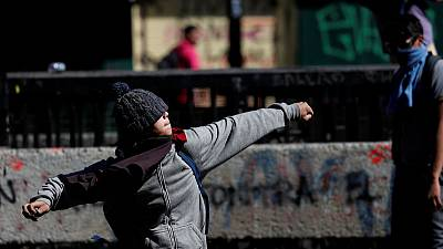 'So much damage': Chile protests flare back up as reforms fall short