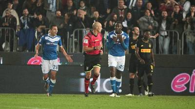 Brescia-Inter,cori offensivi a Balotelli