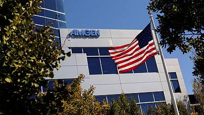 Amgen third-quarter revenue falls 3%, biosimilar sales rise