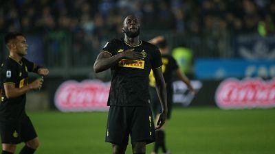 Lautaro-Lukaku, l'Inter sbanca a Brescia