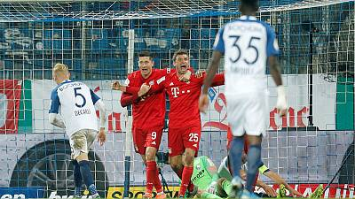 Gnabry and Mueller save Bayern's blushes in late cup win