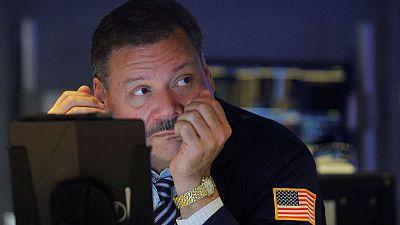 U.S. stocks, Treasury yields drop ahead of Fed decision