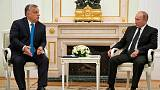 Russia's Putin, Hungary's Orban to discuss TurkStream pipeline, nuclear energy