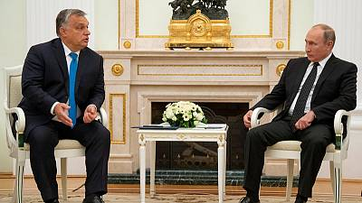 Russia's Putin, Hungary's Orban to discuss TurkStream pipeline, nuclear energy