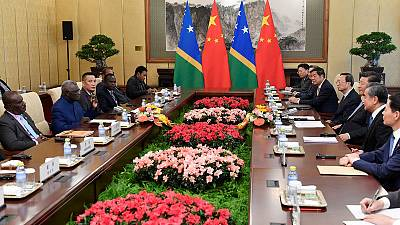 China cites 'early harvest' benefits in Guadalcanal deal
