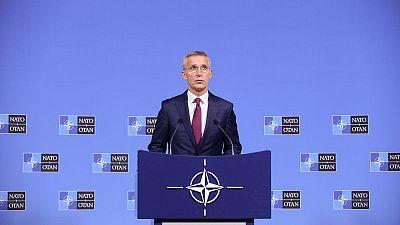 NATO chief welcomes troop withdrawal in eastern Ukraine