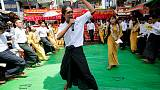 Myanmar court jails satirical performers
