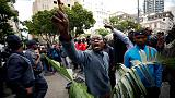 South African police arrest 100 people in protest against xenophobia