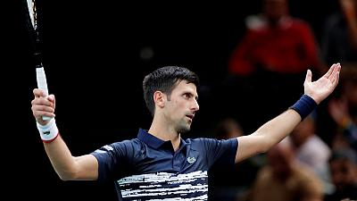 Djokovic survives wobble against little-known Frenchman
