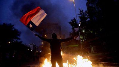 Proteste in Cile, Libertadores a rischio
