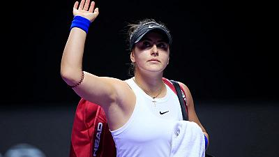 Scan will determine Finals fate, says Andreescu