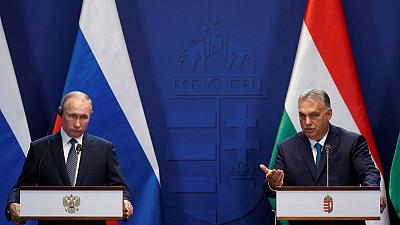 PM Orban says joining TurkStream gas pipeline 'the sooner the better' for Hungary