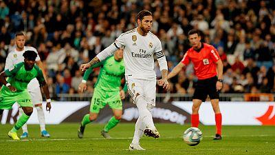 Ramos nets for 16th straight season as Real thrash Leganes